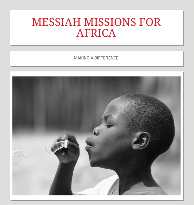"Messiah Missions For Africa is now registered with Amazon's  ""AmazonSmile"" Program…"