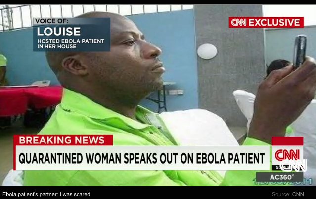 EXCLUSIVE: Quarantined Woman Speaks Out About Her Partner, Ebola Patient Thomas Duncan