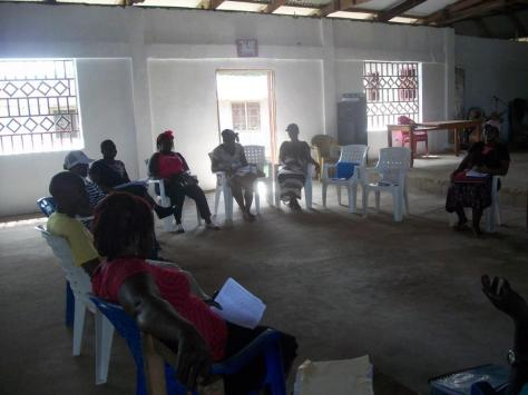 The counseling class of the Messiah Mission Church in Meeting